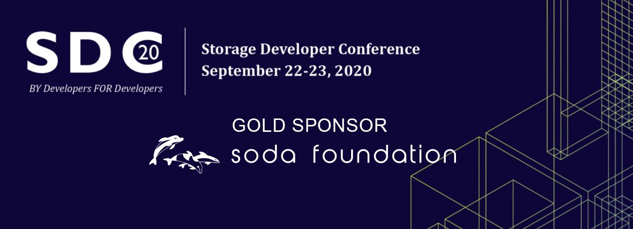 SODA Foundation at SDC 2020
