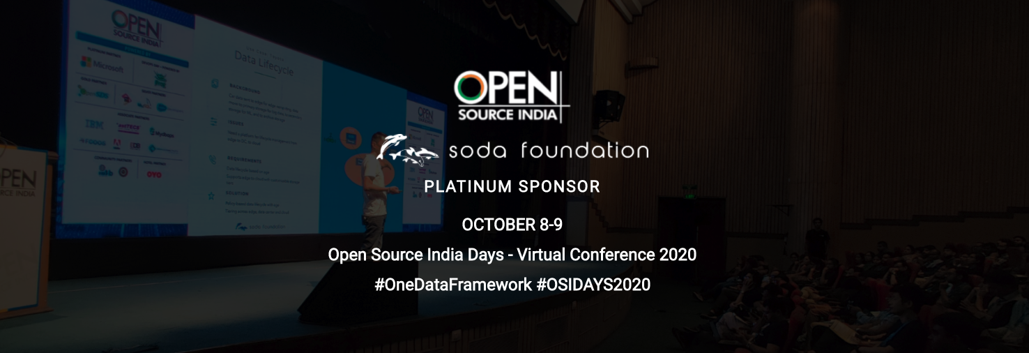 SODA Foundation at Open Source India 2020